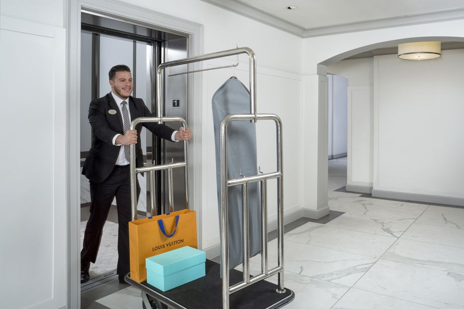 Bellman Services at Camden Post Oak High Rise Luxury Apartments in Houston Galleria, Texas