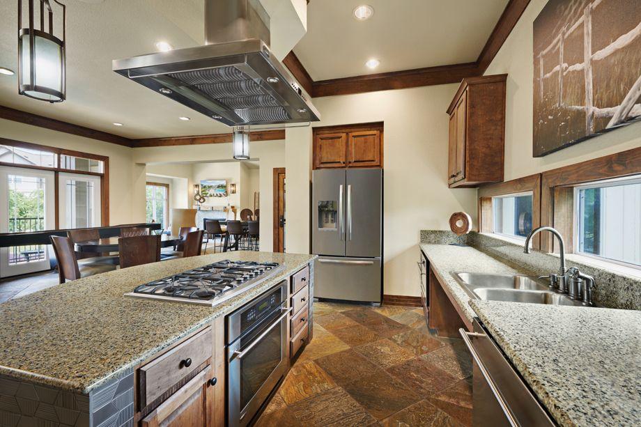 Clubhouse Kitchen at Camden Cedar Hills apartments in Austin, TX