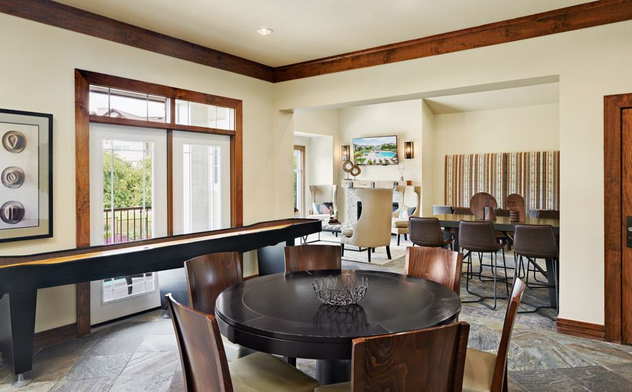 Game Lounge at Camden Cedar Hills apartments in Austin, TX