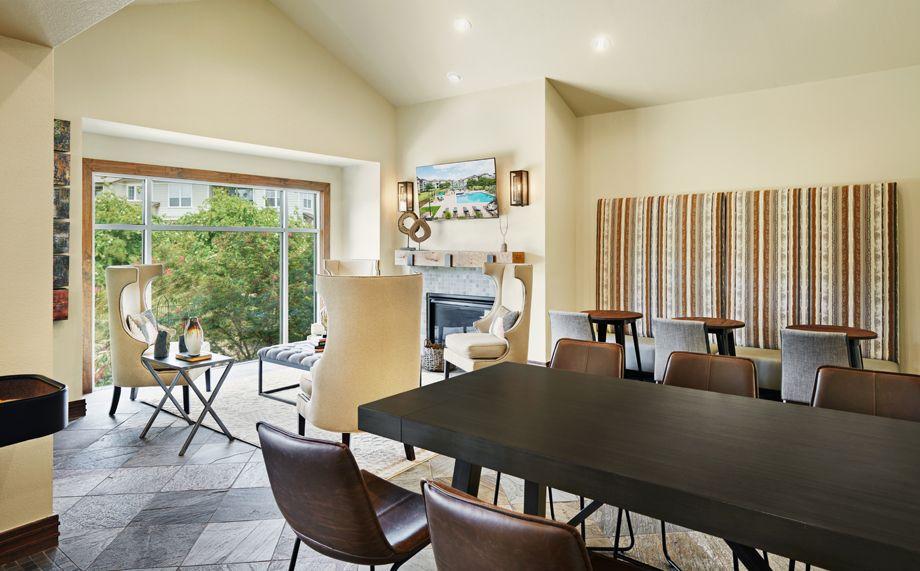 Resident Lounge at Camden Cedar Hills apartments in Austin, TX