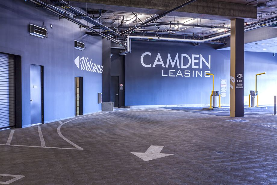 Parking for Residents, Guests, and Retail Customers at Camden Glendale apartments in Glendale, CA