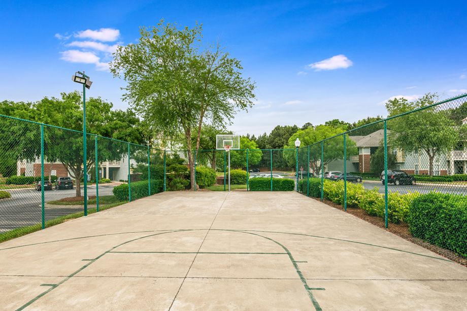 Basketball court at Camden Governors Village Apartments in Chapel Hill, NC