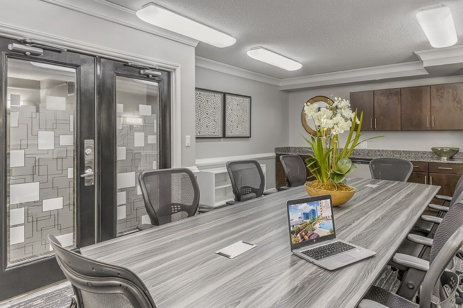 Conference Room at Camden Grandview Townhomes in Charlotte, NC