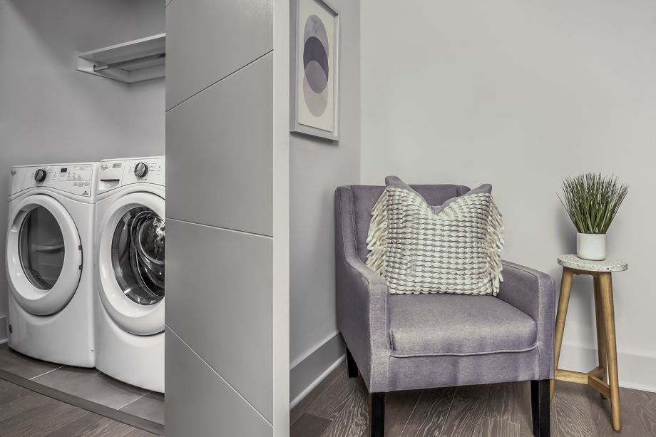 Laundry at Camden Grandview Townhomes in Charlotte, NC