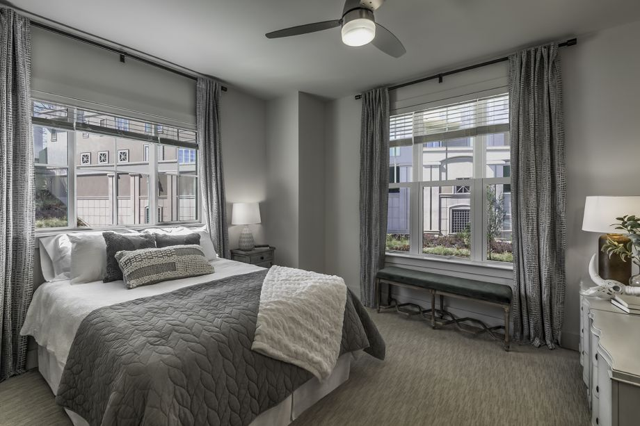 Main Bedroom at Camden Grandview Townhomes in Charlotte, NC