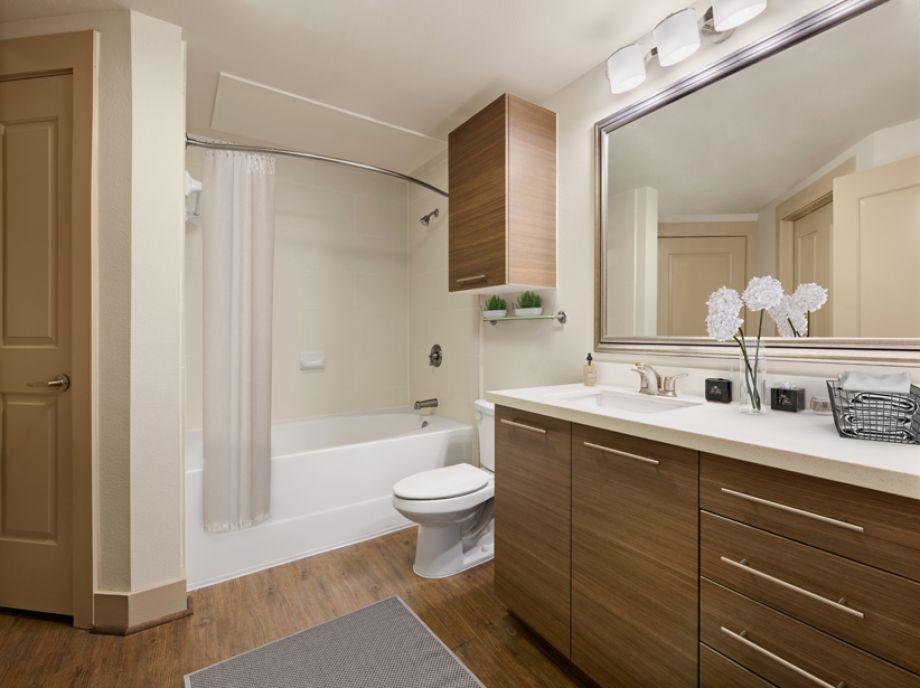 Bathroom at Camden Lamar Heights in Austin, TX