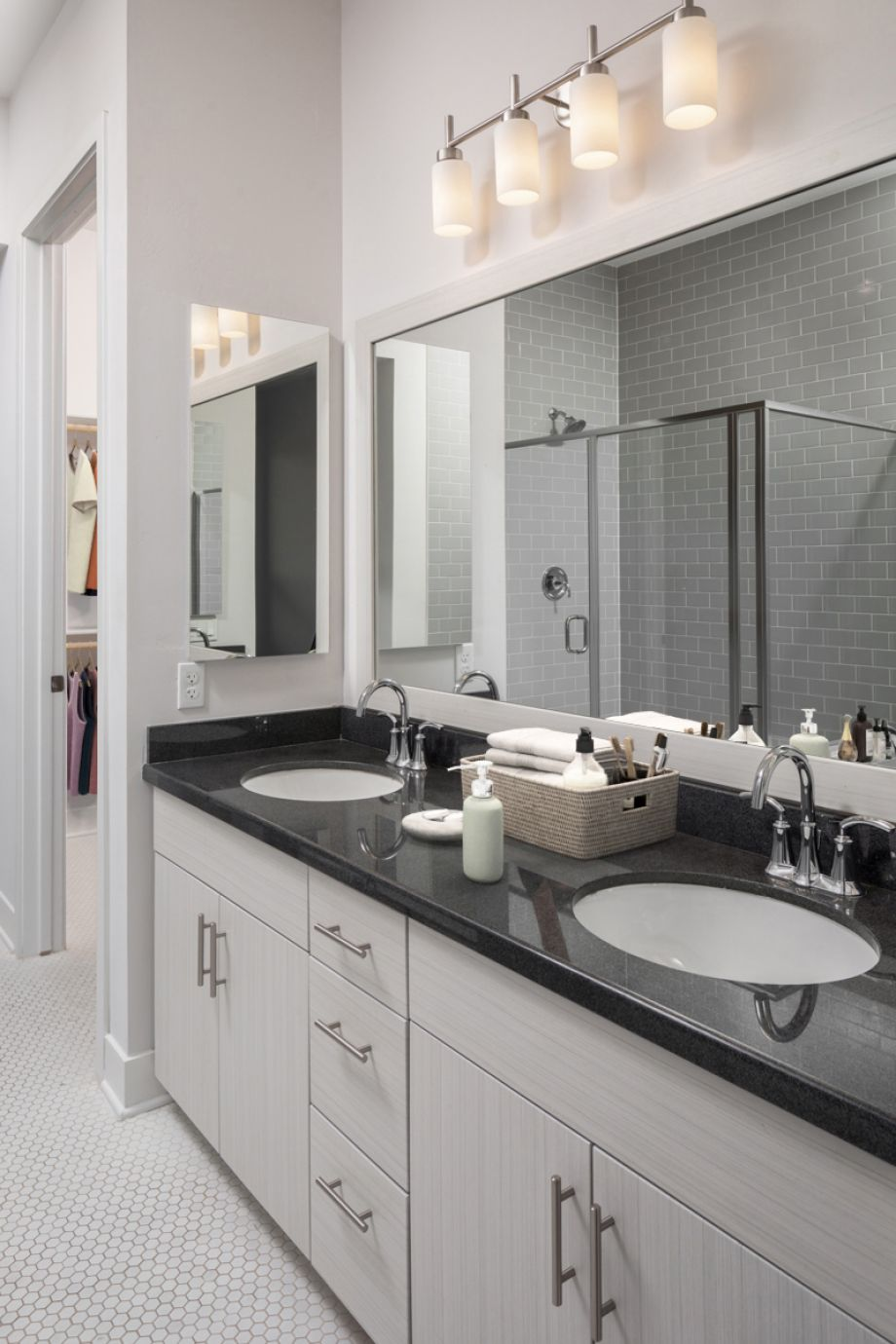 Penthouse Double Vanity Sink at Camden Old Town Scottsdale Apartments in Scottsdale, Arizona
