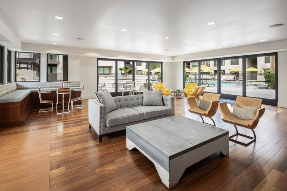 Community Workspace at Camden Old Town Scottsdale Apartments in Scottsdale, Arizona