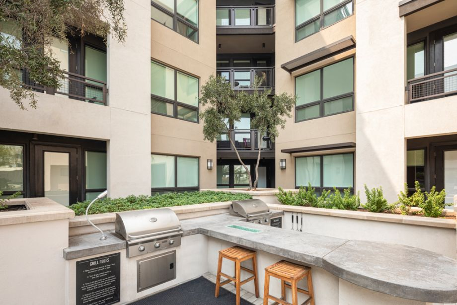 Outdoor Grills at Camden Old Town Scottsdale Apartments in Scottsdale, Arizona
