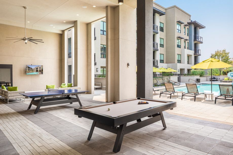 Outdoor Lounge at Camden Old Town Scottsdale Apartments in Scottsdale, Arizona