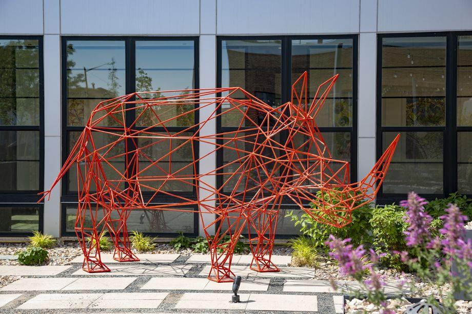 Camden RiNo apartments in Denver, Colorado live work Rhino art