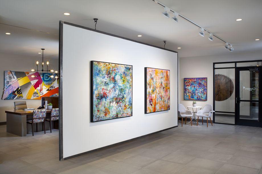 Camden RiNo apartments in Denver, Colorado live work art gallery