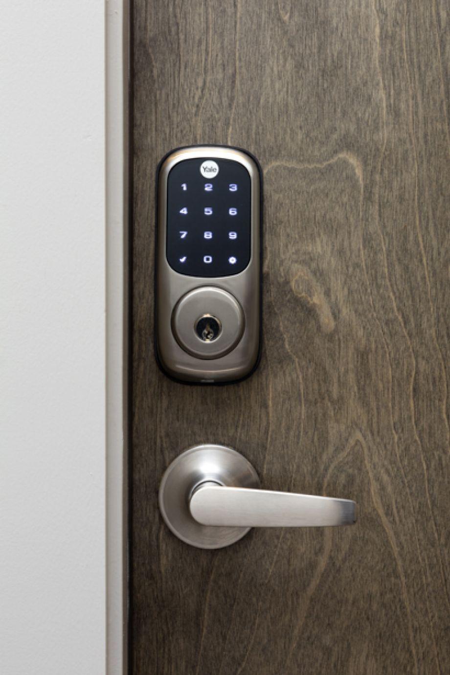 Camden RiNo apartments in Denver, Colorado live work smart locks