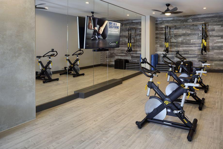 Camden RiNo apartments in Denver, Colorado live work spin studio