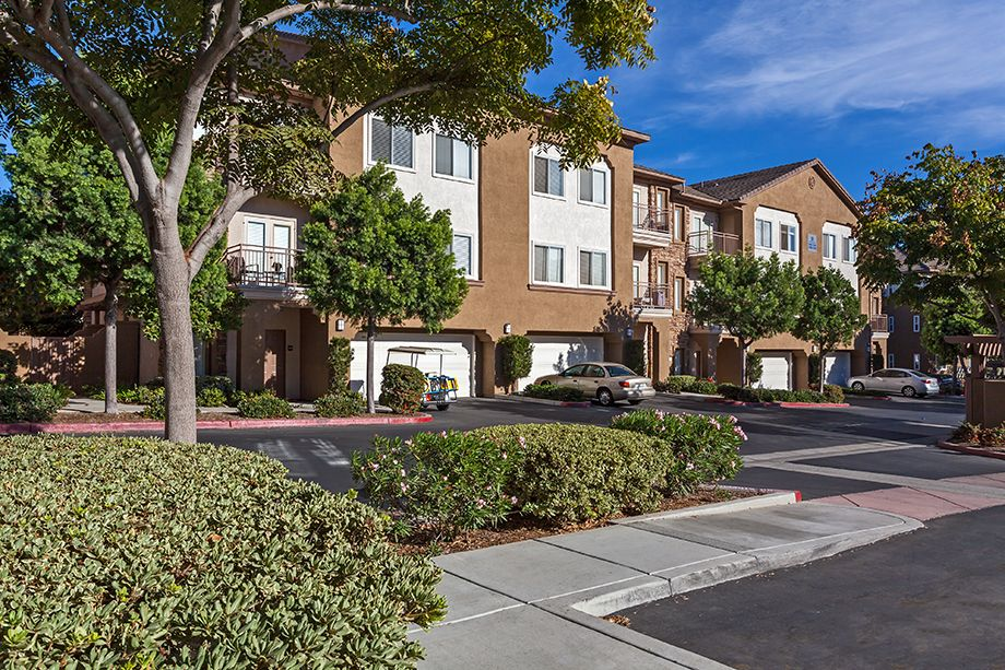Townhome Exterior at Camden Sierra at Otay Ranch apartments in Chula Vista, CA
