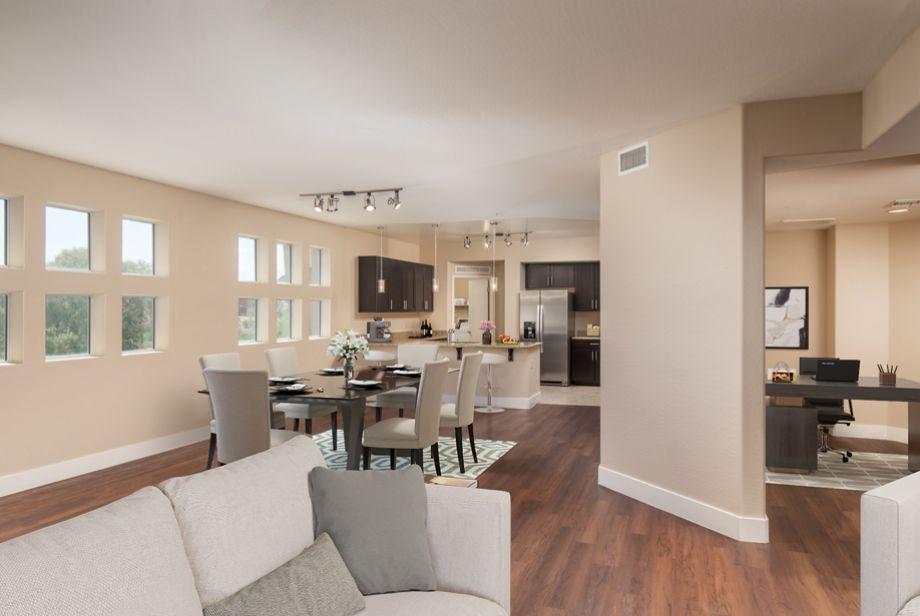 Penthouse Open-Concept Living at Camden Sotelo Apartments in Tempe, Arizona
