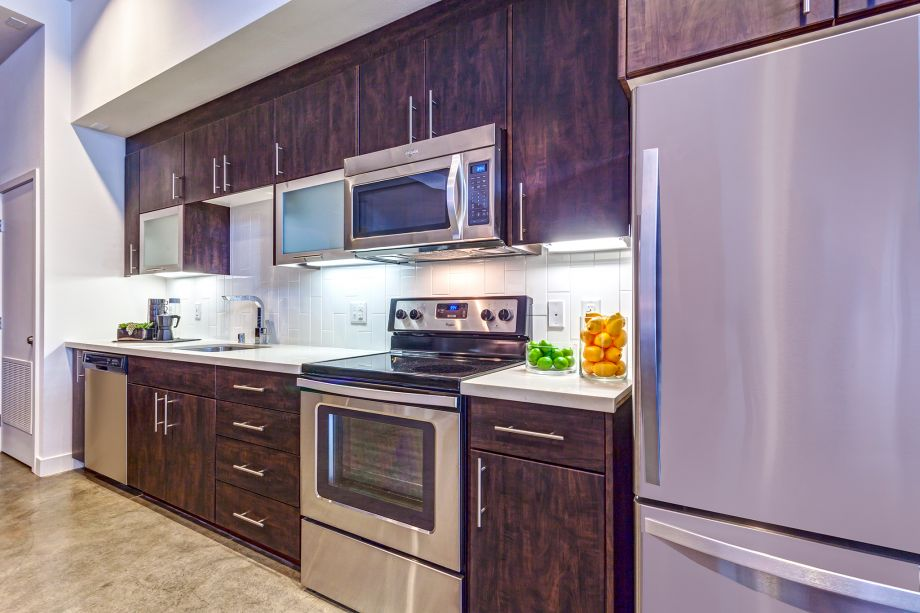 Live/Work Kitchen at Camden Glendale apartments in Glendale, CA