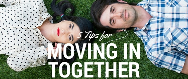 Ideas for Moving In Together from Simply Camden