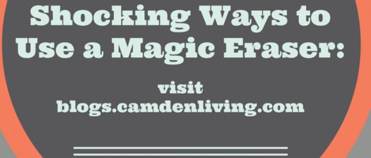 Shocking ways to use a magic eraser
