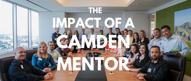 The Impact of a Camden Mentor in Innova Conference Room