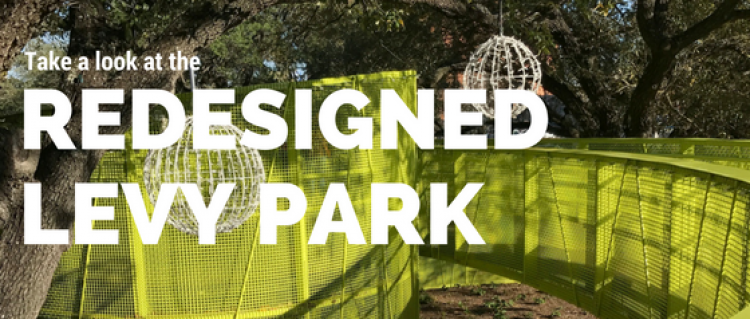 Take a Look at the Redesigned Levy Park in Houston