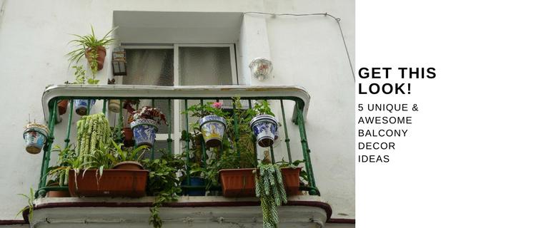 5 Awesome U0026 Unique Balcony Decor Ideas