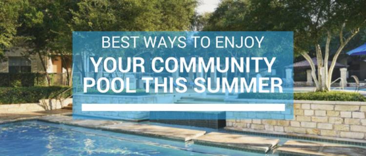 apartments, Austin apartment, apartment pool, pool party, pool etiquette
