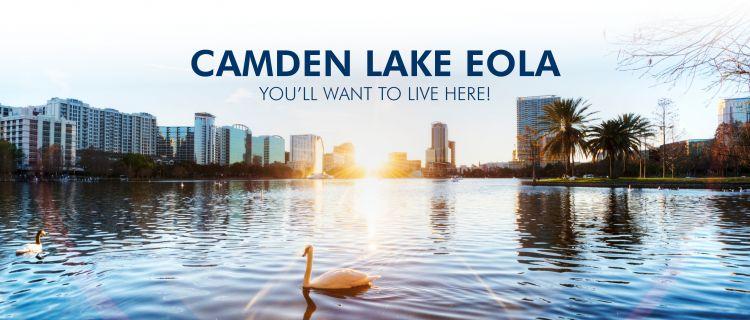 Camden Lake Eola Downtown Orlando New Apartments