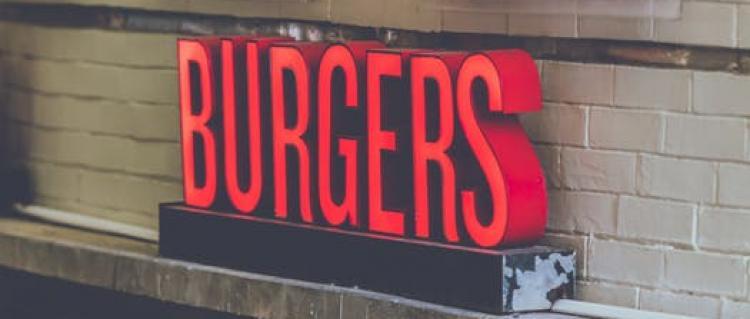 Burgers Sign