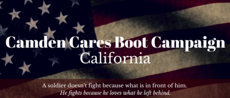 Camden Cares Boot Campaign - Veterans
