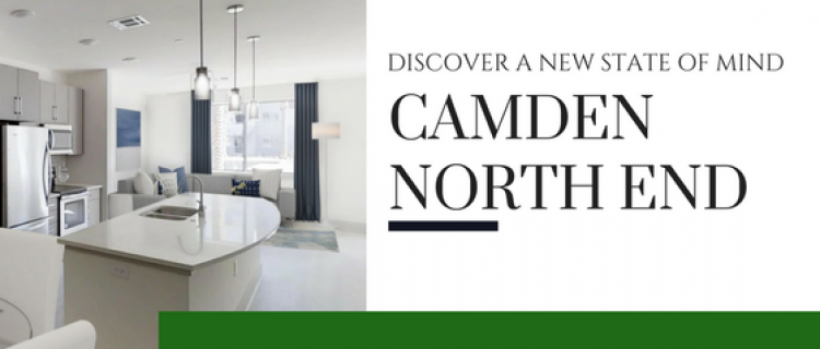 Camden North End one, two and three bedroom apartment community in Phoenix, AZ
