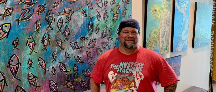 Camden Pier District Art Gallery Features Local Artists