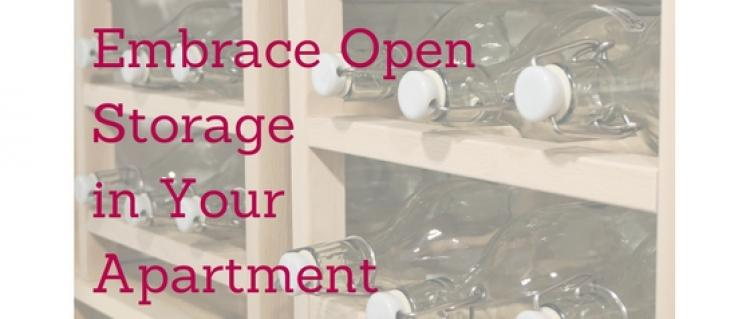 Embrace Open Storage in Your Apartment