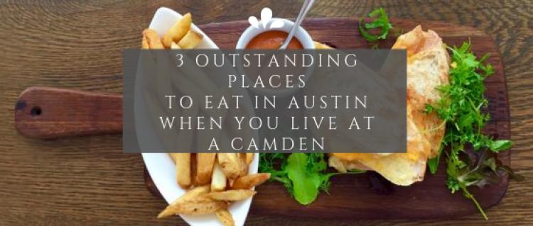 Eat in Austin