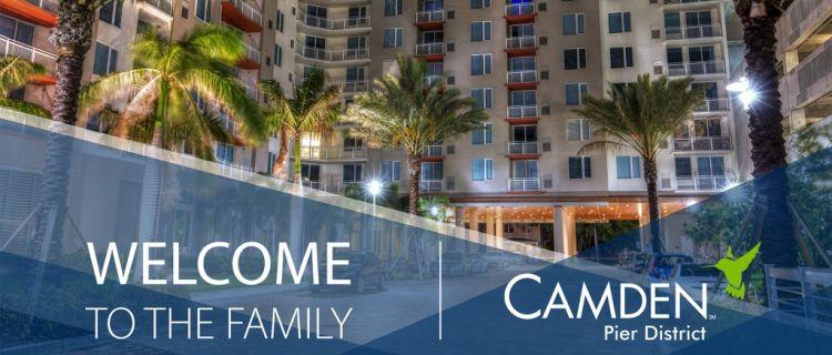 Camden Pier District St. Petersburg Florida