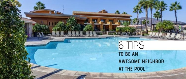 6 Tips To Be An Awesome Neighbor at the Pool