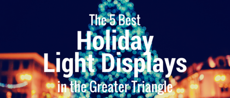 5 Best Holiday Light Displays in the Greater Triangle