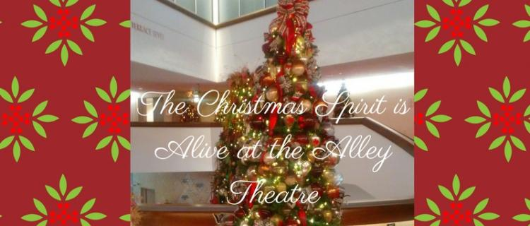 A Christmas Carol at the Alley Theatre