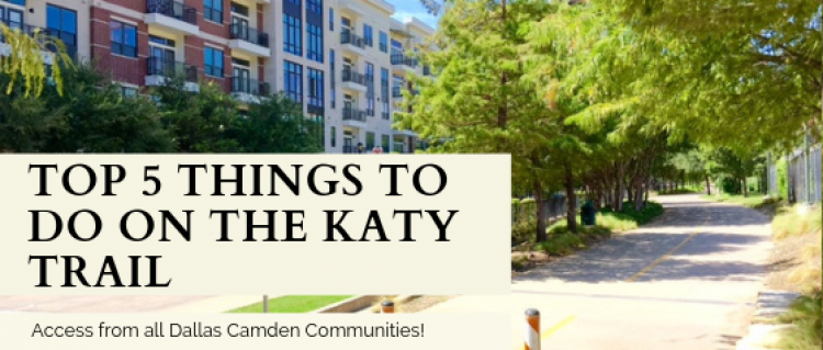Top 5 Things To Do on the Katy Trail in Dallas