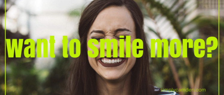 Want to smile more?