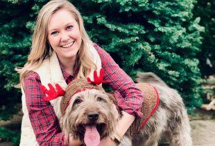 Amanda Black, Regional Marketing Director, with her dog, Lilly