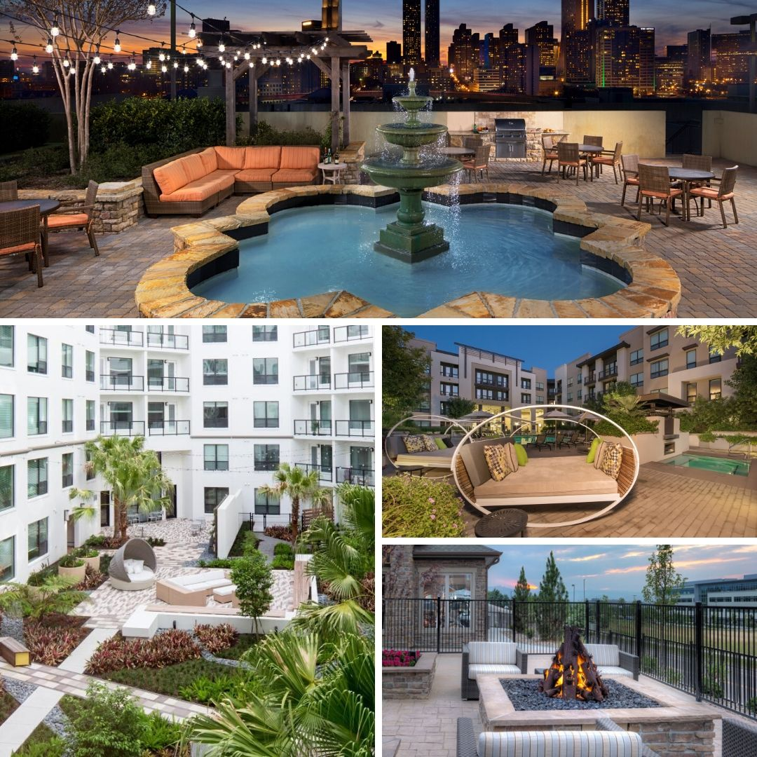camden-apartment-community-rooftop-amenity-pool-fireplace